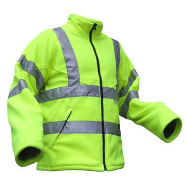 Be Seen Hi Viz Fleece Jacket  Thumbnail 2