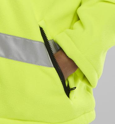 Be Seen Hi Viz Fleece Jacket  Thumbnail 4