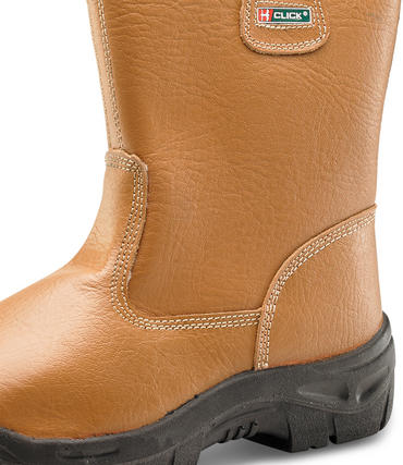 Click Lined Scuff Cap Rigger Work Boots Thumbnail 2