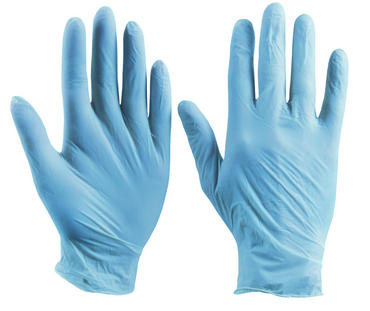 Click Vinyl Disposable Powdered Gloves Box 100