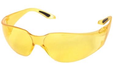 B Brand Vegas Safety Glasses Yellow