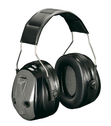 3M Peltor Push to Listen Electronic Ear Defenders  Thumbnail 1