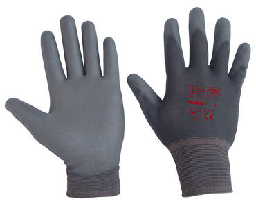 Nylon PU Palm Coated 10 Pack Work Gloves  Thumbnail 1