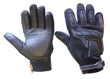 Ergodyne Leather Anti Vibration Grip Gloves