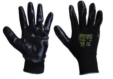 Click Nitestar Nitrile Coated Work Gloves 10 Pair Pack