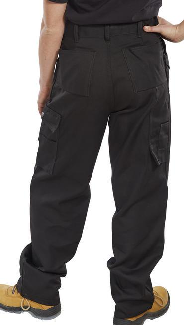 Click Premium Multi Pocket Work Trousers  Thumbnail 4