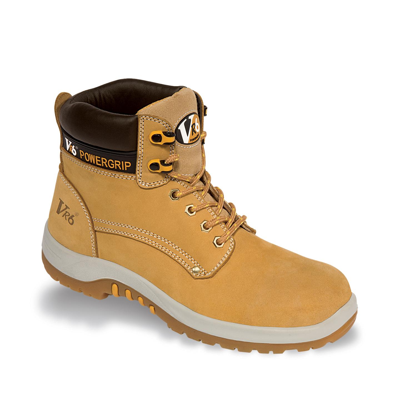 V6 Puma Safety Boots VR602 Honey Nubuck Toecap & Midsole