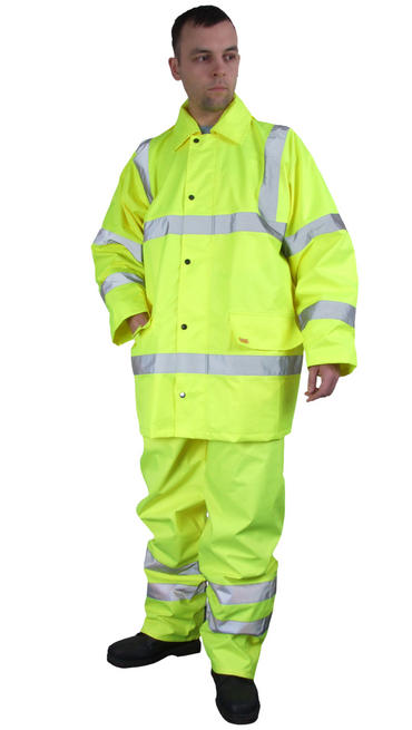 Hi Viz Waterproof Suit Thumbnail 1