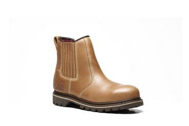 V12 Stampede Vintage Leather Dealer Safety Boots