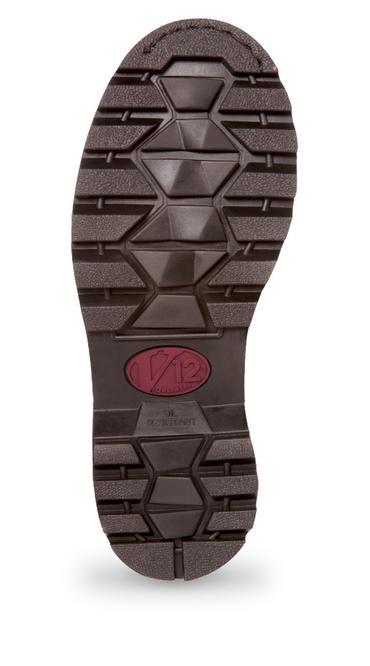 V12 Stampede Vintage Leather Dealer Safety Boots Thumbnail 2