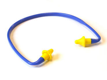 Banded Ear Plugs Pair