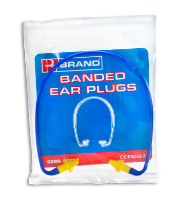 Banded Ear Plugs Pair Thumbnail 2