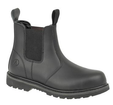 Amblers FS5 Safety Dealer Boot Black