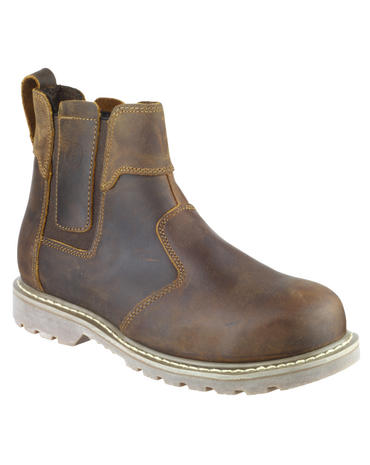 Amblers FS165 Safety Dealer Boots Brown