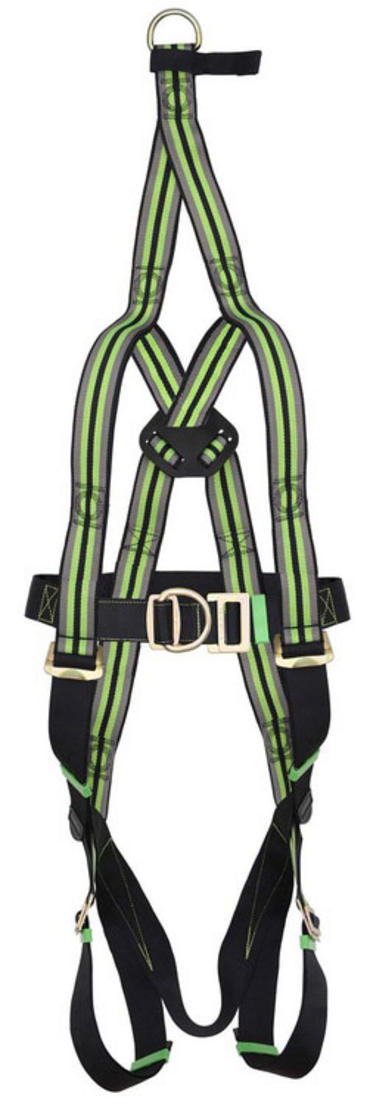 Fall Arrest Scaffold Harness with Rescue Extension