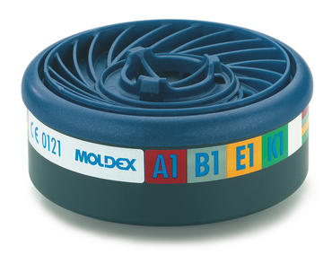 Moldex 9400 ABEK1 Particulate Filters 5 Pair Pack