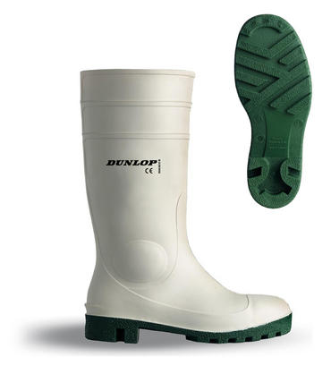 Dunlop Protomastor Safety Welly White