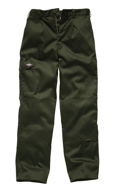 Dickies Super Redhawk Trousers WD884 Khaki/Green Thumbnail 2