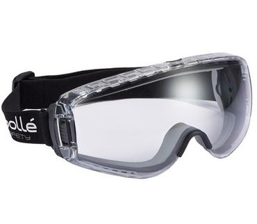 Bolle Pilot Safety Goggles Clear