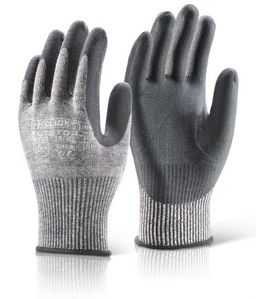 Click Cut Resistant 5 Nitrile Dipped Gloves 10Pk