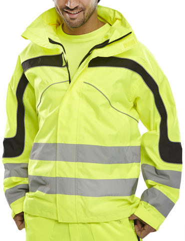 Eton Hi Viz Waterproof Breathable Jacket