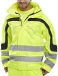 Eton Hi Viz Waterproof Breathable Jacket