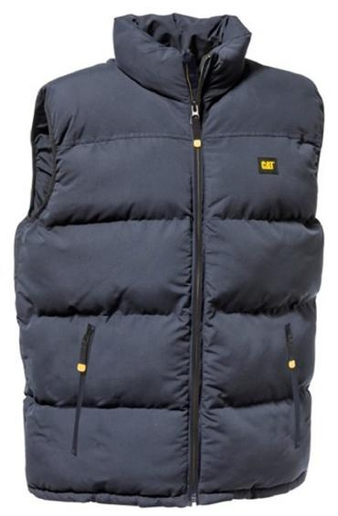 Caterpillar CAT C430 Bodywarmer Gilet Padded Navy Blue