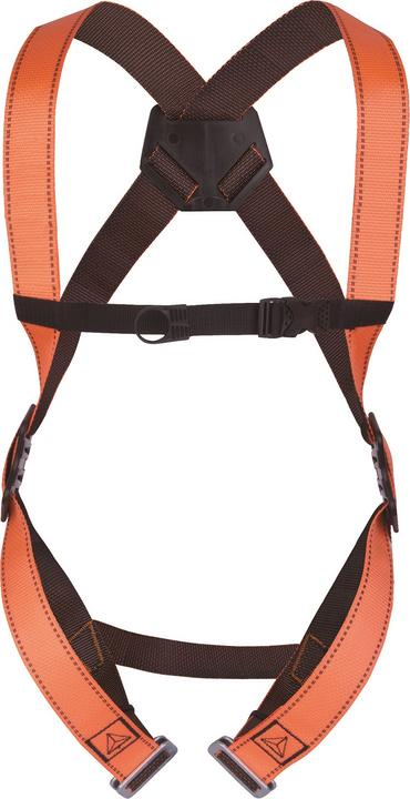 Delta Plus Full Body Scaffold Harness Rear Anchor Point  Thumbnail 1