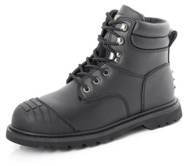 Goodyear Welted Scuff Cap Safety Boots