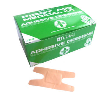 Click First Aid Waterproof Plasters