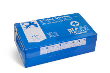 Click Assorted Blue Plasters