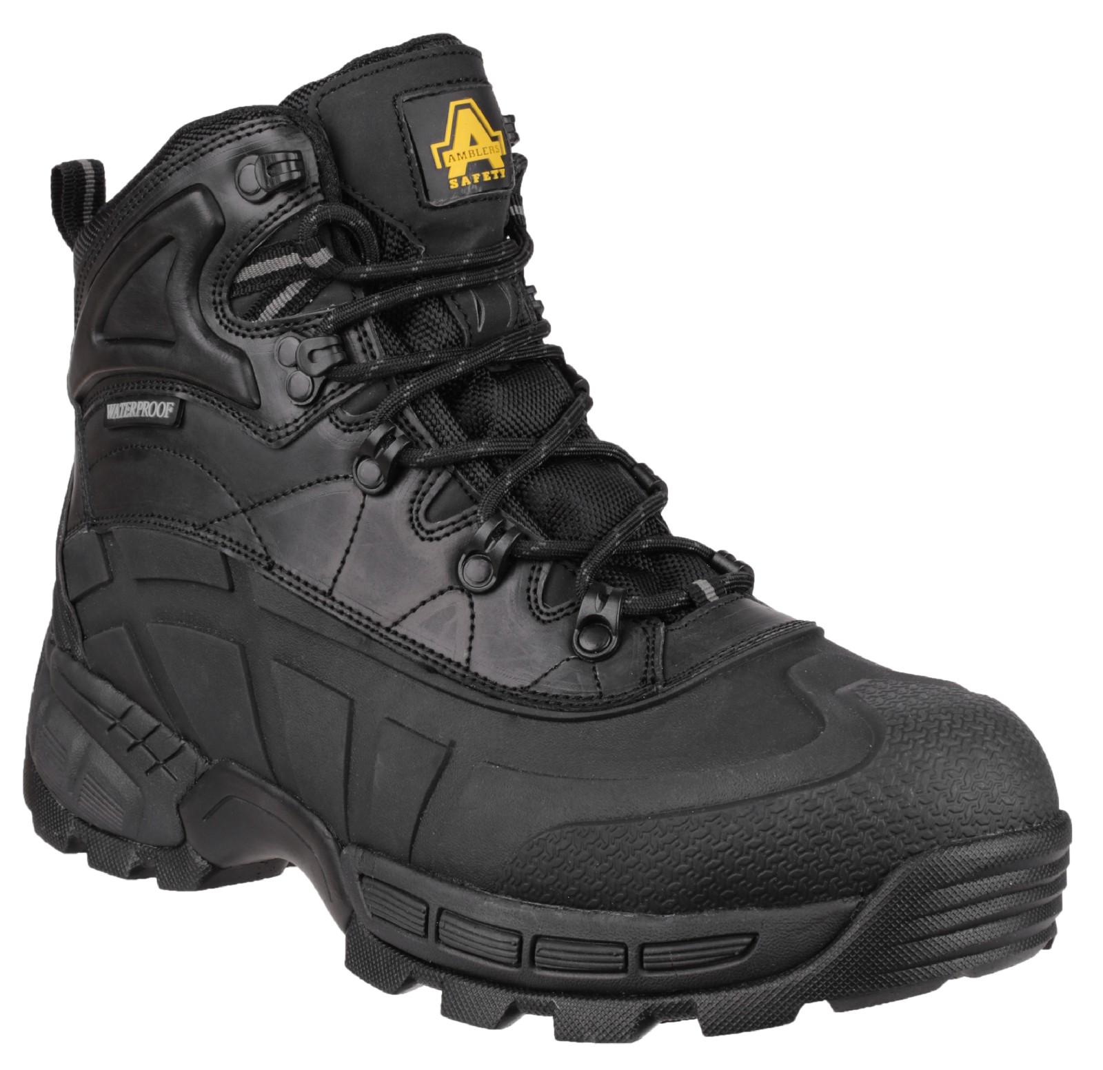 amblers fs430 orca s3 waterproof safety work boots black 6