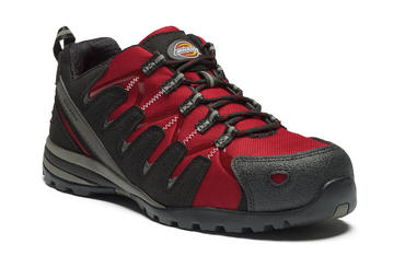 Dickies Tiber Safety Trainers Red