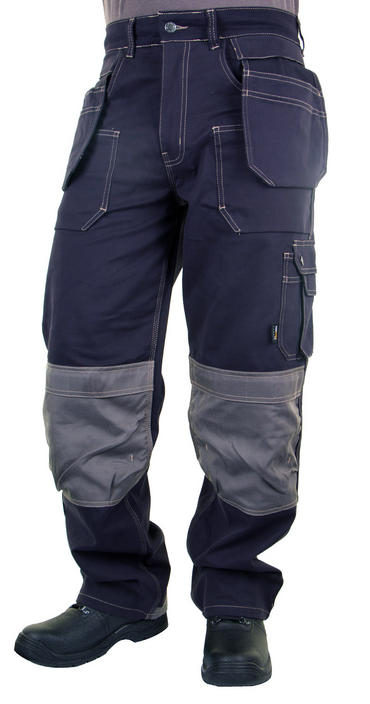 Click Grantham Trousers Navy Blue