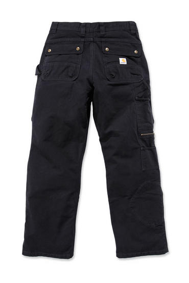 Carhartt EB219 Duck Pants Black