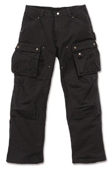 Carhartt EB219 Duck Pants Black Thumbnail 2