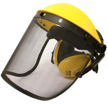 Rocwood Face Shield Visor with Ear Defenders