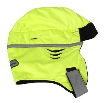 Scott HXZH Zero Hood Winter Helmet Liner Hi Viz Thumbnail 2