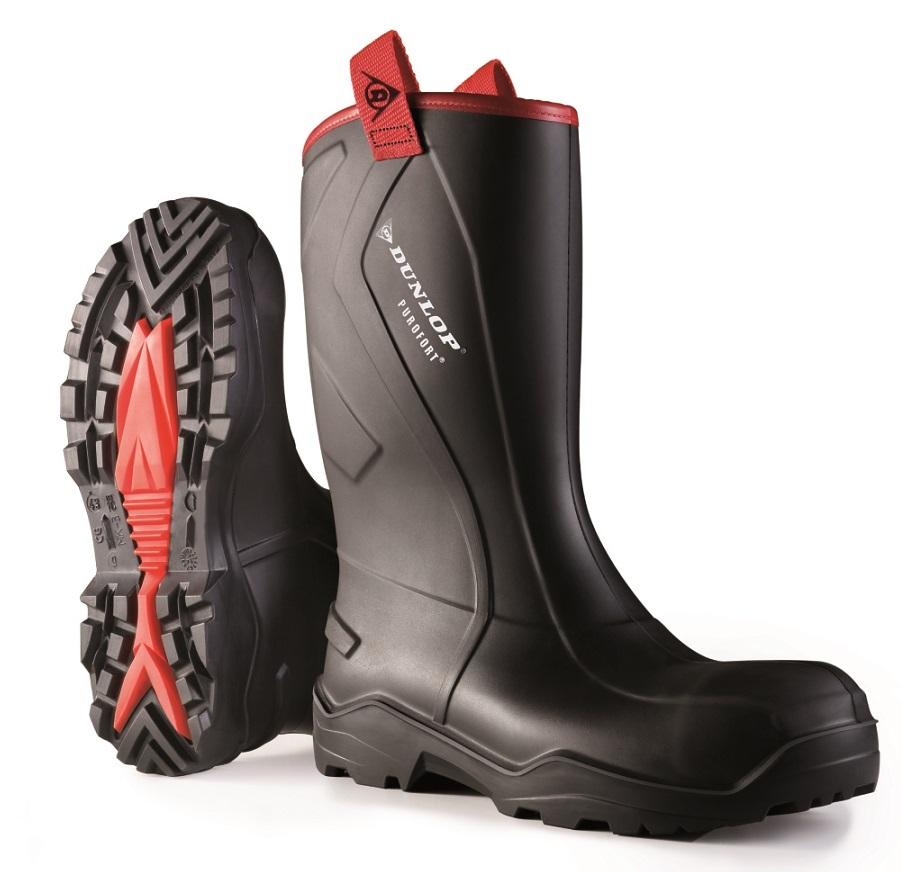 Dunlop Purofort + Rugged Boots