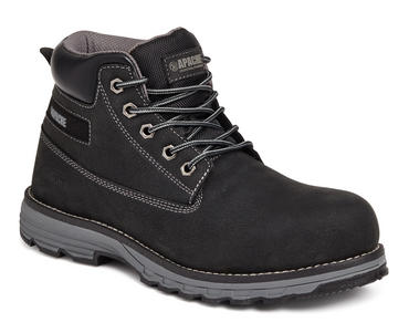 Apache Flyweight Safety Work Boots Black S3