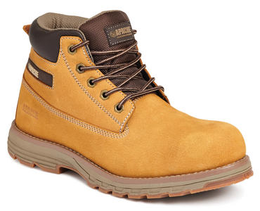 Apache Flyweight Safety Work Boots Wheat S3