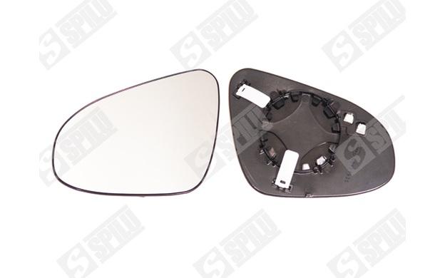 spilu spiegelglas au enspiegel f r toyota auris 15024 ebay. Black Bedroom Furniture Sets. Home Design Ideas