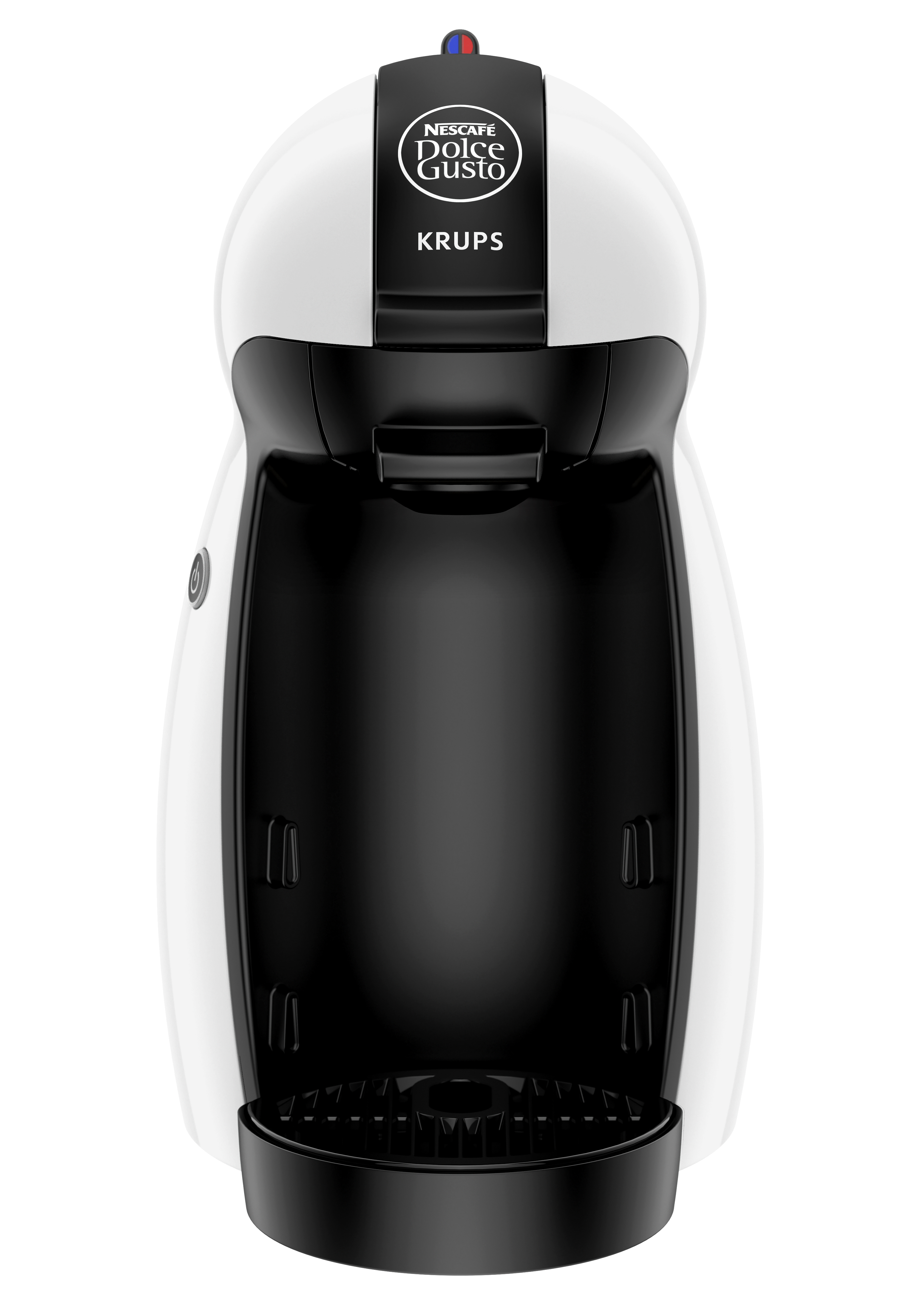 krups kp100240 nescafe dolce gusto piccolo pod coffee machine white ebay. Black Bedroom Furniture Sets. Home Design Ideas