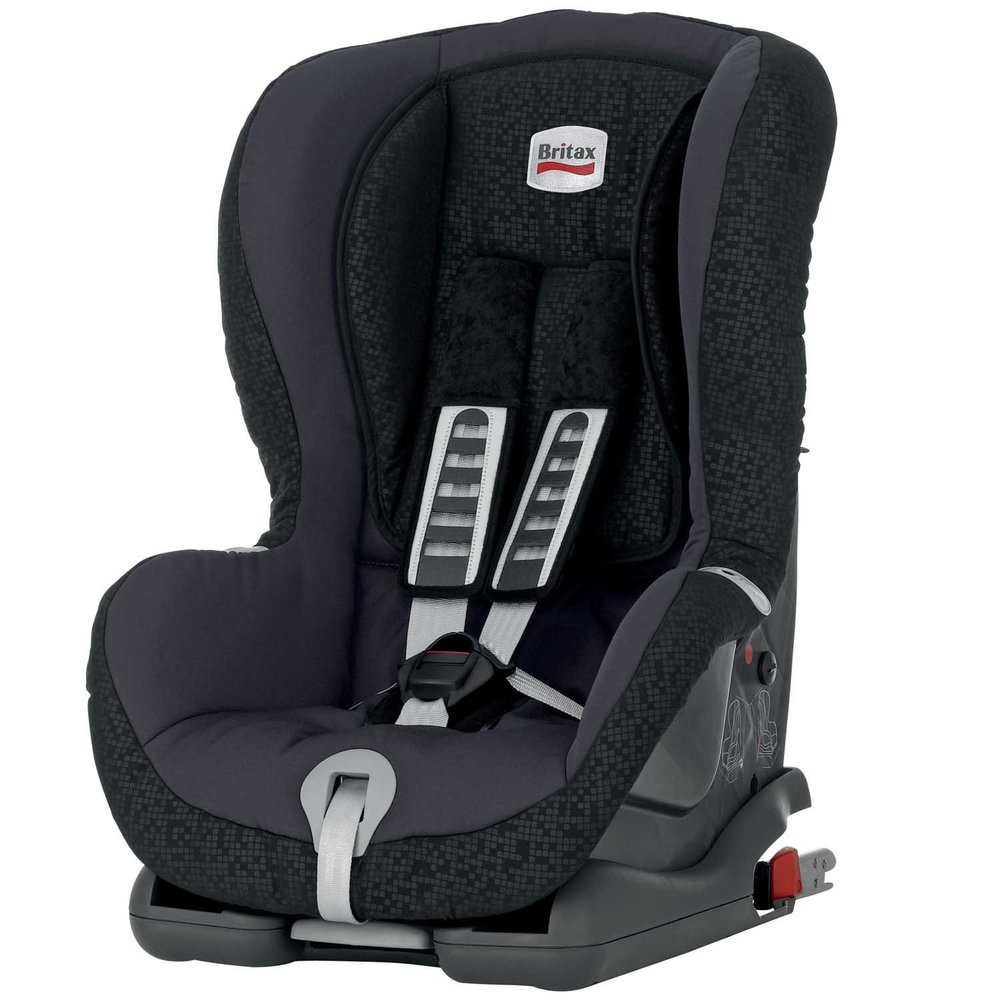 britax duo plus forward facing isofix car seat black thunder ebay. Black Bedroom Furniture Sets. Home Design Ideas
