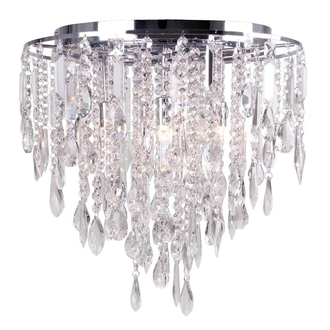Debenhams Home Collection Lily Flush Ceiling Light