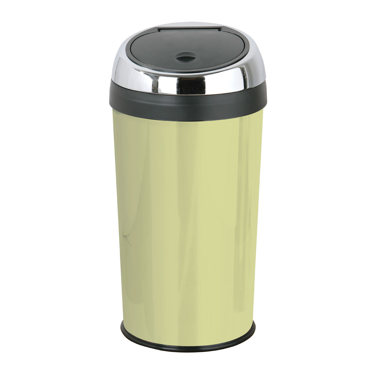Black Kitchen Bin Sale: 30 Litre Touch Top Trash Kitchen Bin Enamel Stainless