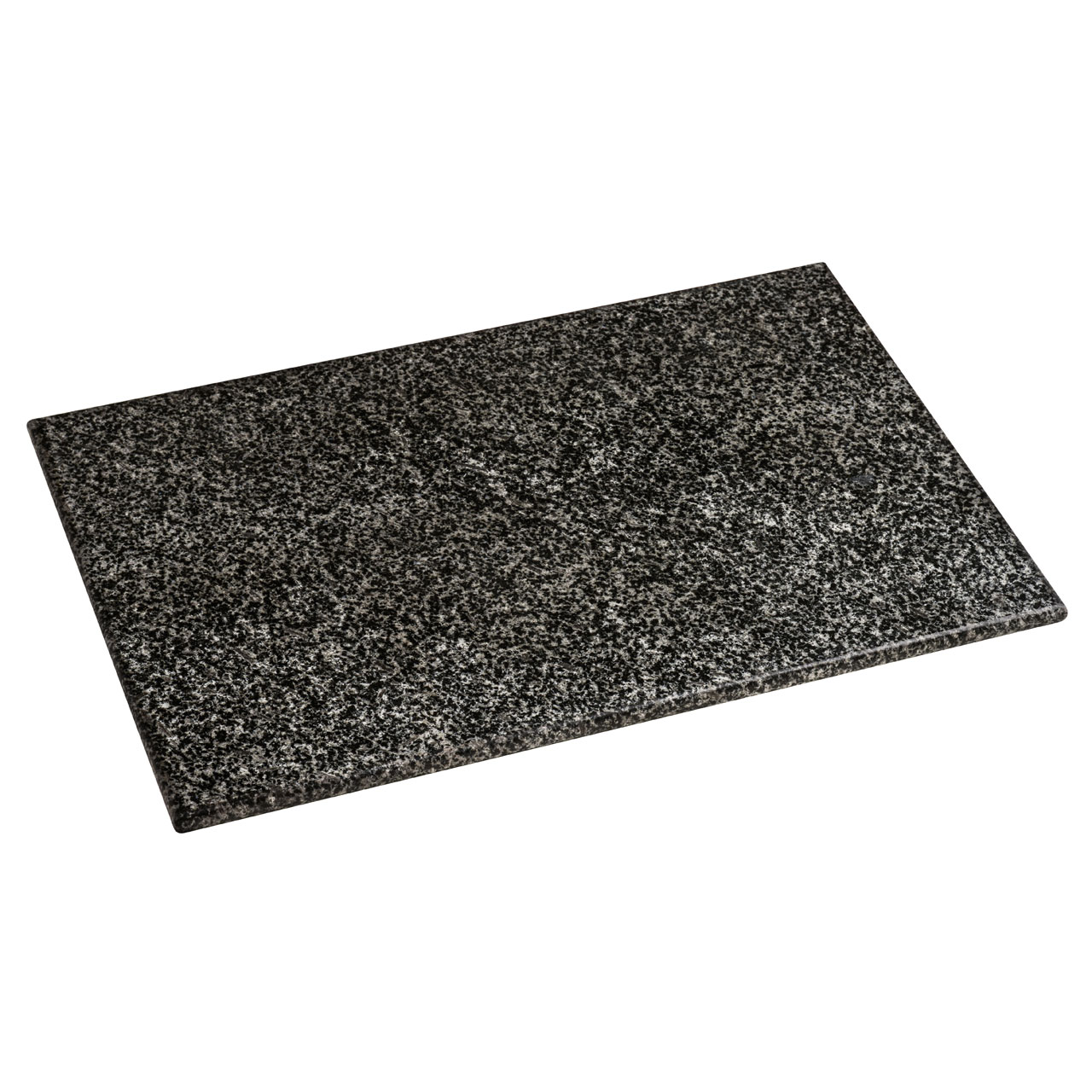 Chopping Board Rubber Feet Cutting Block Black Speckled