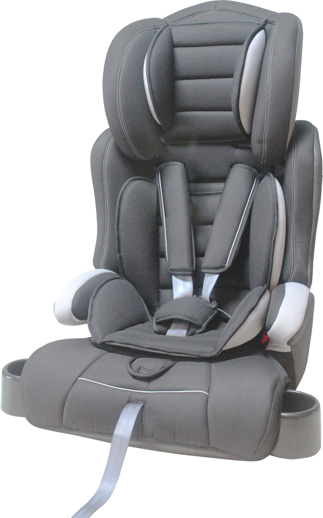 cozy n safe group 1 2 3 child car seat with cupholders grey black. Black Bedroom Furniture Sets. Home Design Ideas