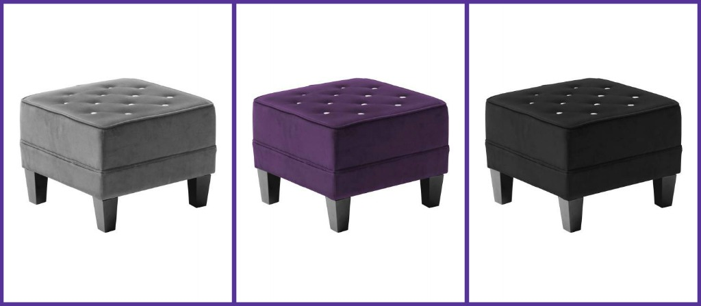 cushioned foot stool 2