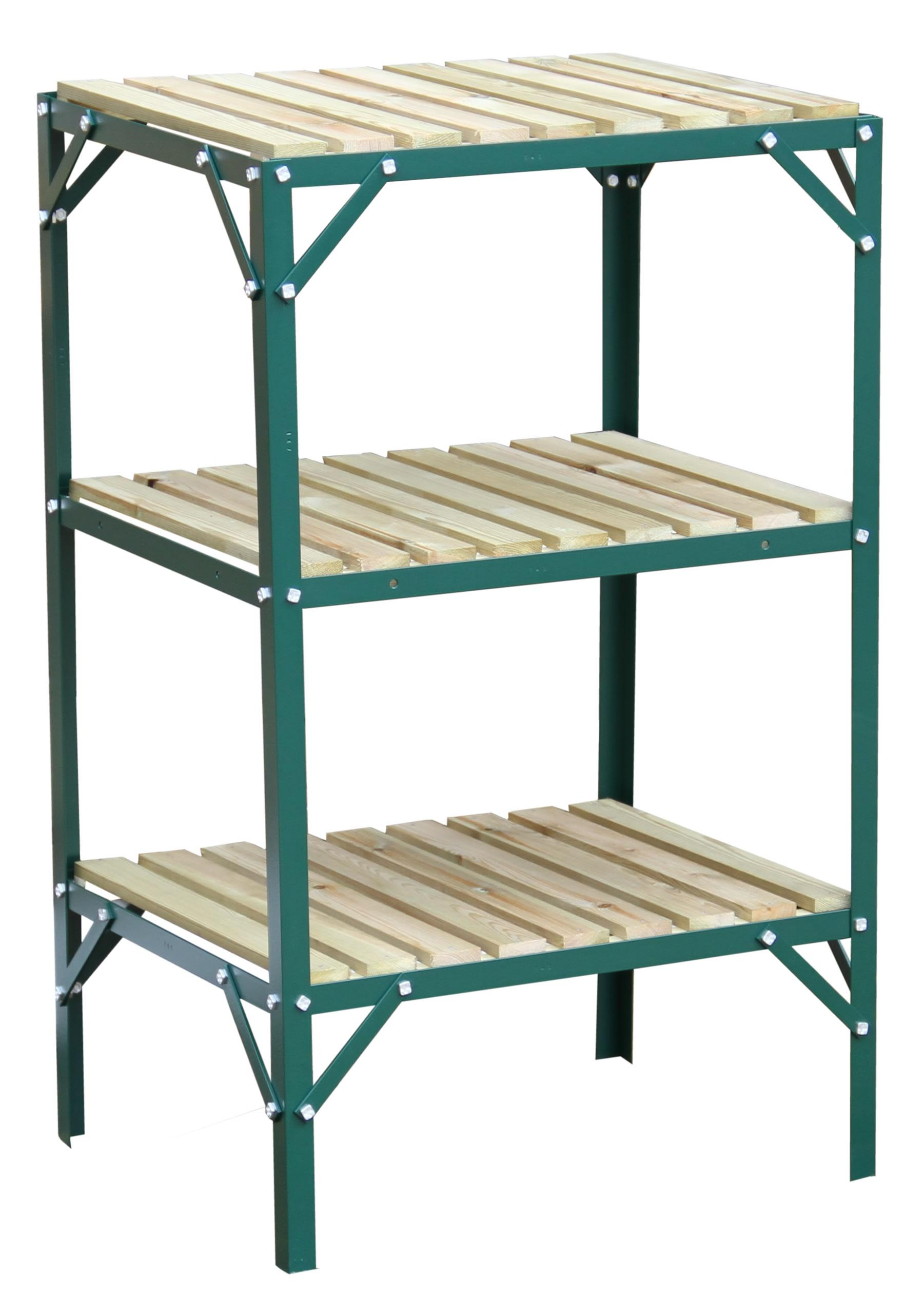 Greenhouse Staging Bench Wooden Three Tier 18 Wide X 2ft Long Ebay